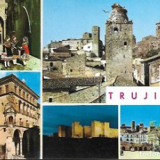 Postales: TRUJILLO (CÁCERES) VARIOS ASPECTOS. Lote 205135753