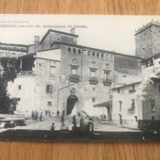 Postales: POSTAL PLASENCIA - PALACIO DEL MARQUESADO DE MIRABEL. Lote 205356982