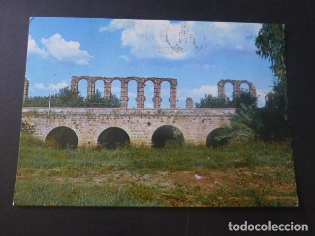 MERIDA BADAJOZ PUENTE SOBRE EL RO ALBARREGAS (Postales - España - Extremadura Moderna (desde 1940))