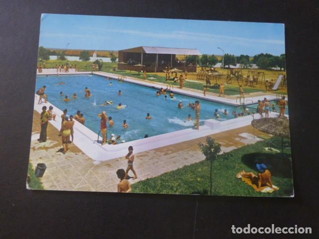 LLERENA BADAJOZ CENTRO DE INICIATIVAS Y TURISMO PISCINA (Postales - España - Extremadura Moderna (desde 1940))