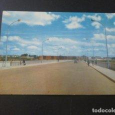 Postales: BADAJOZ PUENTE NUEVO SOBRE EL RIO GUADIANA. Lote 205377252
