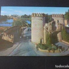 Postales: BADAJOZ PUERTA DE PALMAS. Lote 205377813