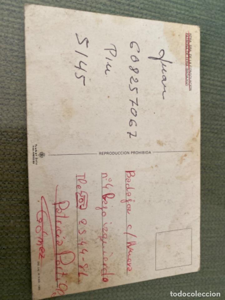 Postales: ANTIGUA POSTAL NTRA SRA DE LA CONSOLACION PATRONA FERIA BADAJOZ - Foto 2 - 205514802