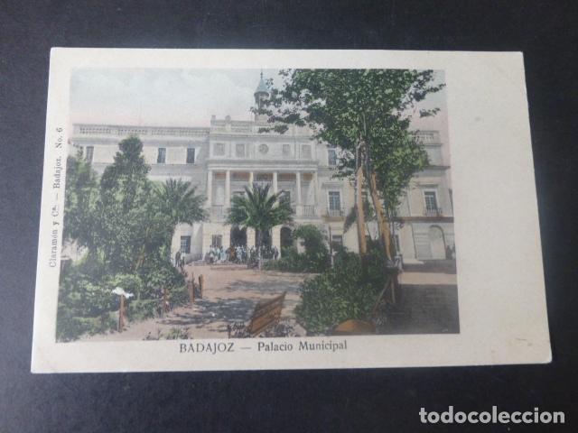 BADAJOZ PALACIO MUNICIPAL (Postales - España - Extremadura Antigua (hasta 1939))