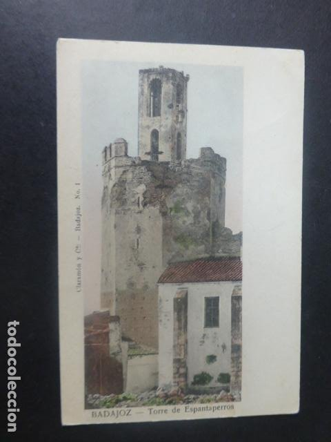 BADAJOZ TORRE DE ESPANTAPERROS (Postales - España - Extremadura Antigua (hasta 1939))