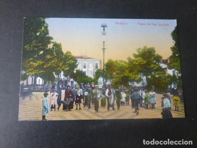 BADAJOZ PASEO DE SAN ANDRES (Postales - España - Extremadura Antigua (hasta 1939))