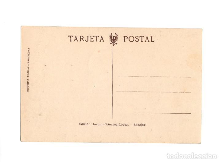 Postales: BADAJOZ.- PUENTE DE LAS PALMAS. - Foto 2 - 205715121