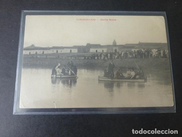 ALMENDRALEJO BADAJOZ CHARCA NUEVA (Postales - España - Extremadura Antigua (hasta 1939))