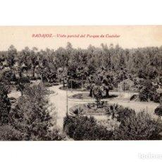 Postales: BADAJOZ.- VISTA PARCIAL, PARQUE CASTELAR.. Lote 205724873