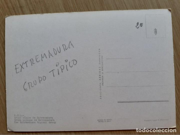 Postales: TARJETA POSTAL - GRUPO TIPICO DE EXTREMADURA 2903 - Foto 2 - 206233411