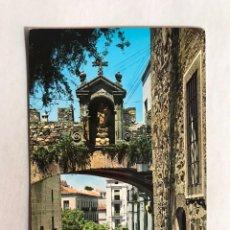 Cartes Postales: CÁCERES POSTAL ANIMADA NO.3, ARCO DE LA ESTRELLA. GARCIA GARRABELLA (A.1966) CIRCULADA. Lote 206454592