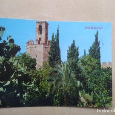 Postales: POSTAL BADAJOZ TORRE DE ESPANTA PERROS. Lote 206530650