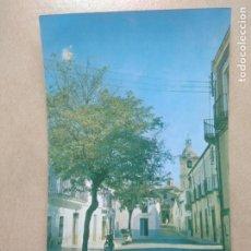 Postales: POSTAL MADROÑERA, CACERES, AVDA DE JOSE ANTONIO. Lote 206789866