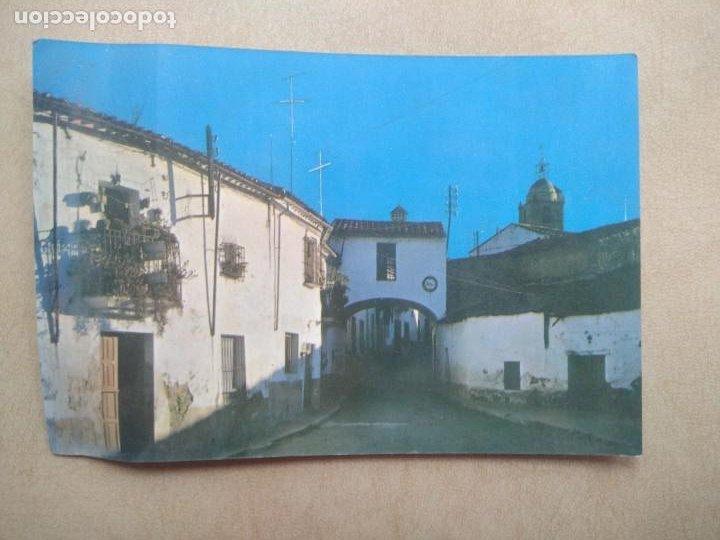 POSTAL MADROÑERA, CACERES, PLAZA DE LA REINA (Postales - España - Extremadura Moderna (desde 1940))