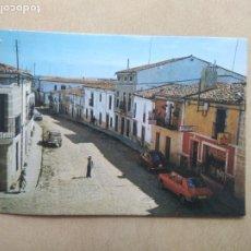 Postales: POSTAL GARROVILLAS, CACERES, N 7, CALLE RAMON Y CAJAL ANTES CORREDERA. Lote 206791202