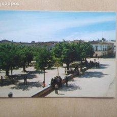 Postales: POSTAL GARROVILLAS, CACERES, N 6, PLAZA DE COLON ANTES LAGUNA. Lote 206791543