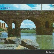 Postales: POSTAL SIN CIRCULAR - MERIDA 2051 - PUENTE ROMANO - EDITA ARRIBAS. Lote 206821727