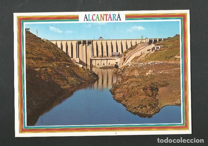 POSTAL SIN CIRCULAR - ALCANTARA 24 - CACERES - PRESA DE ALCANTARA - EDITA ARRIBAS (Postales - España - Extremadura Moderna (desde 1940))