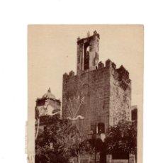 Postales: CÁCERES.- TORRE DE ABU-JACOB.(BUJACO). SIGLO XII. YUGO Y FLECHA. FALANGE.. Lote 207219936