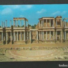Postales: POSTAL SIN CIRCULAR - MERIDA 30 - BADAJOZ - TEATRO ROMANO - SIN EDITORIAL. Lote 210539788