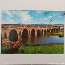 Postales: MÉRIDA, PUENTE ROMANO Nº 88 EDICIONES ARRIBAS. Lote 210640000