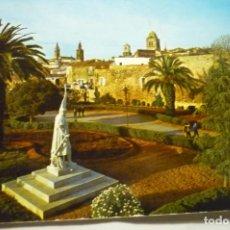 Postales: POSTAL JEREZ CABALLEROS PARCIAL PARQUE STA.LUCIA. Lote 210706281