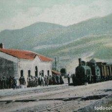 Postales: HERVAS-ESTACION DEL FERROCARRIL-CASAS EDITOR-POSTAL ANTIGUA-(72.677). Lote 210952137