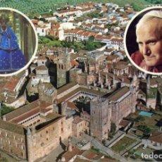 Postales: Nº 8 - GUADALUPE. CÁCERES. VISITA DE JUAN PABLO II. PAPA. SIN CIRCULAR. ED. LUMASA EDICIONES. Lote 211406461