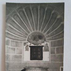 Postales: MALPARTIDA DE CÁCERES - PILA BAUTISMAL - E1 - LMX. Lote 211678656