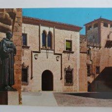 Cartes Postales: CÁCERES - DIPUTACIÓN Y PALACIO DE LOS GOLFINES DE ABAJO - LMX - EXT1. Lote 212900047