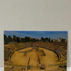 Cartes Postales: TARJETA POSTAL. MERIDA. C.- ANFITEATRO ROMANO. TORISON.. Lote 213309605