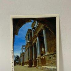 Cartes Postales: TARJETA POSTAL. MERIDA. PATRIMONIO DE LA HUMANIDAD. 5.-TEATRO ROMANO. VISTA LATERAL. Lote 213310377