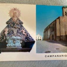 Postales: ANTIGUA POSTAL CAMPANARIO BADAJOZ IGLESIA PARROQUIAL Y PATRONA. Lote 213594577