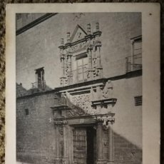 "Postales: TRUJILLO (CÁCERES) 1ª SERIE A. DURÁN Nº 10 ""PORTADA DEL PALACIO DEL DUQUE DE SAN CARLOS"" CIRCULADA.. Lote 215828880"