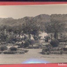Postales: CABEZA DEL BUEY (BADAJOZ), 2 PARQUE MUNICIPAL, EDICIONES ALARDE, B/N, CIRCULADA 1963, SIN SELLO, .. Lote 217590895