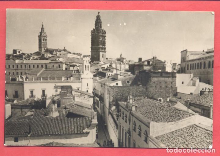 JEREZ DE LOS CABALLEROS (BADAJOZ) VISTA PARCIAL TORRE DE S.MIGUEL Y S.BARTOLOME, EDI. VDA DE LEANDRO (Postales - España - Extremadura Moderna (desde 1940))