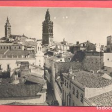 Postales: JEREZ DE LOS CABALLEROS (BADAJOZ) VISTA PARCIAL TORRE DE S.MIGUEL Y S.BARTOLOME, EDI. VDA DE LEANDRO. Lote 217633301