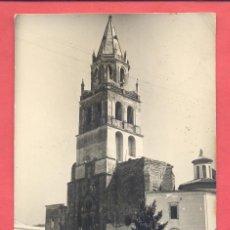 Postales: VILLAFRANCA DE LOS BARROS (BADAJOZ) 12 IGLESIA PARROQUIAL, ED. ALARDE, CIRCULADA 1961, VER FOTOS. Lote 217651510