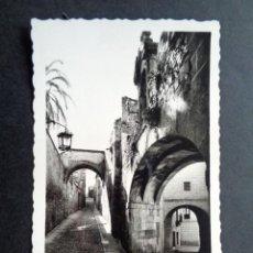 Postales: POSTAL CÁCERES. ARCO DE LA ESTRELLA. EDICIONES ARRIBAS.. Lote 218076716