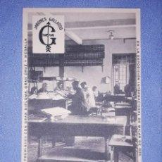 Postales: POSTAL ORIGINAL JABONES GALLARDO VILLANUEVA DE LA SERENA (BADAJOZ) OFICINAS SIN CIRCULAR. Lote 218351700