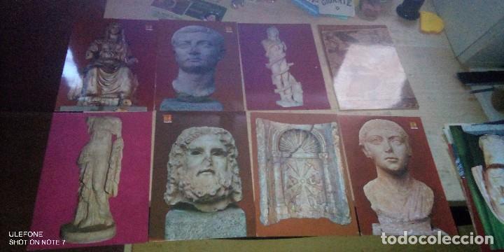 LOTE 13 POSTALES MUSEO ARQUEOLOGICO MERIDA 1969 (Postales - España - Extremadura Moderna (desde 1940))