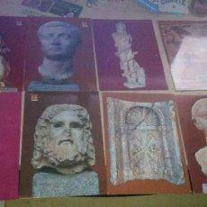 Postales: LOTE 13 POSTALES MUSEO ARQUEOLOGICO MERIDA 1969. Lote 220775205