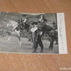 Postales: POSTAL DE TIPOS CHARROS. Lote 221442312