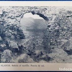 Postales: 13 TARJETAS POSTALES ANTIGUAS DE ALANGE ( BADAJOZ ) . VER FOTOS. Lote 221775698