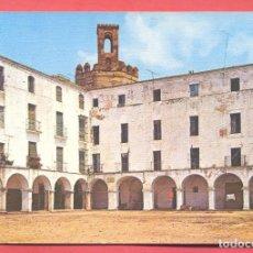 Postales: BADAJOZ, 94 PLAZA ALTA Y TORRE DE ESPANTAPERROS, ED. ARRIBAS S/C, VER FOTOS. Lote 221956057
