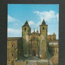 Postales: POSTAL CIRCULADA - CACERES 26 - IGLESIA DE SAN FRANCISCO - EDITA ALMACENES MORALES. Lote 222078553
