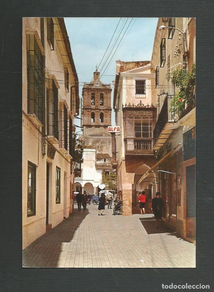 POSTAL SIN CIRCULAR - ZAFRA 2001 - CALLE SEVILLA - EDITA ARRIBAS (Postales - España - Extremadura Moderna (desde 1940))