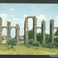 Postales: POSTAL SIN CIRCULAR - MERIDA 8 - ACUDUCTO ROMANO - BADAJOZ - EDITA GARCIA GARRABELLA. Lote 222123526