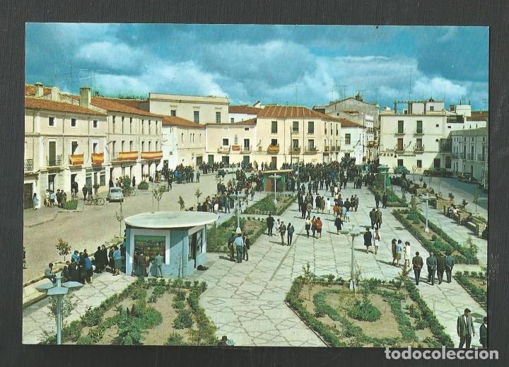 POSTAL SIN CIRCULAR - VALENCIA DE ALCANTARA 2003 - CACERES - PASEO Y PLAZA - EDITA ARRIBAS (Postales - España - Extremadura Moderna (desde 1940))