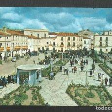 Postales: POSTAL SIN CIRCULAR - VALENCIA DE ALCANTARA 2003 - CACERES - PASEO Y PLAZA - EDITA ARRIBAS. Lote 222123820